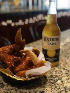 corona and wings